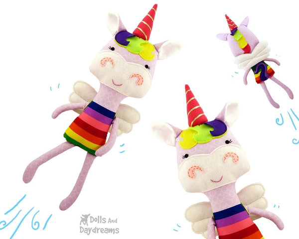 Unicorn Sewing Pattern - Dolls And Daydreams - 3