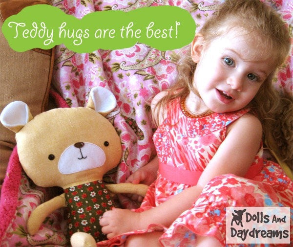 Teddy Bear Sewing Pattern - Dolls And Daydreams - 4