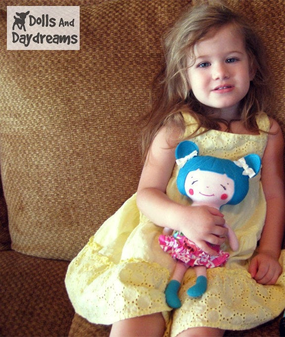 Little Sister Sewing Pattern - Dolls And Daydreams - 3