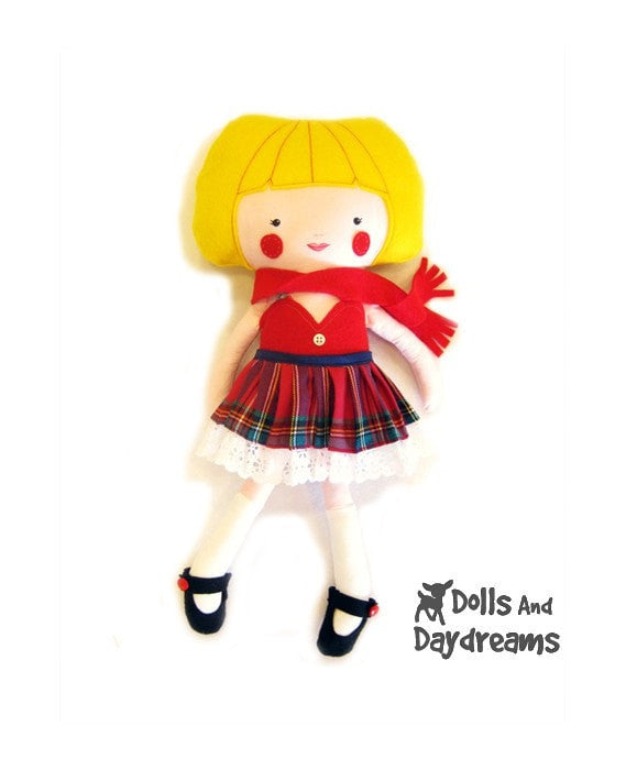 Pleated Skirt Sewing Pattern - Dolls And Daydreams - 4