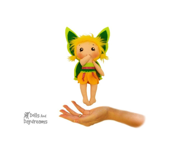 Tinkerbell Fairy Sewing Pattern - Dolls And Daydreams - 1