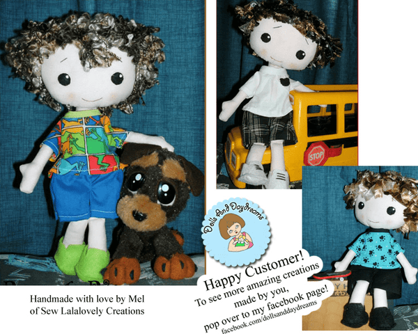 Peter Pan Sewing Pattern - Dolls And Daydreams - 5