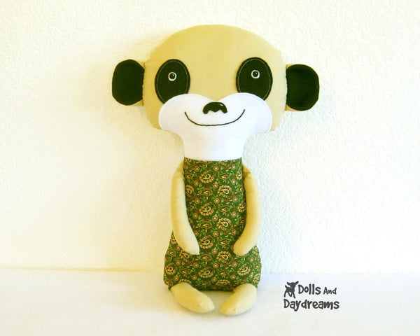 Meerkat Sewing Pattern - Dolls And Daydreams - 6