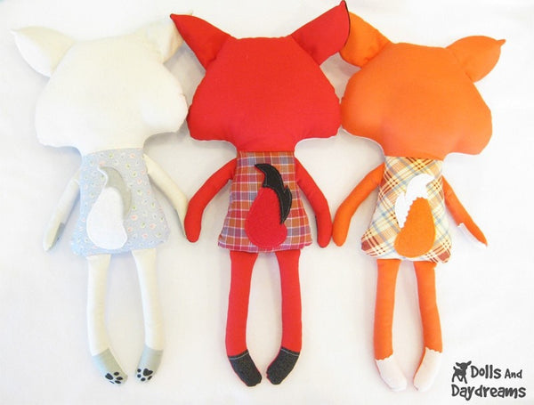 Fox Sewing Pattern - Dolls And Daydreams - 3