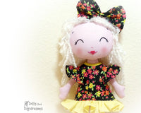 Poppet Sun Dress Sewing Pattern - Dolls And Daydreams - 1