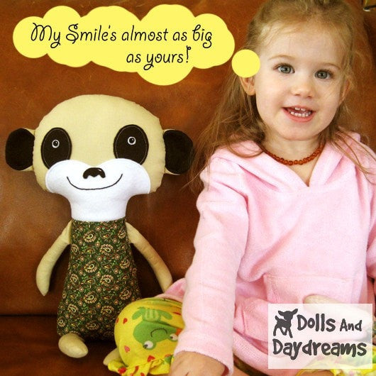 Meerkat Sewing Pattern - Dolls And Daydreams - 3