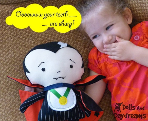 Vampire Sewing Pattern - Dolls And Daydreams - 4