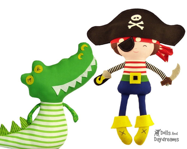 Pirate Sewing Pattern - Dolls And Daydreams - 6