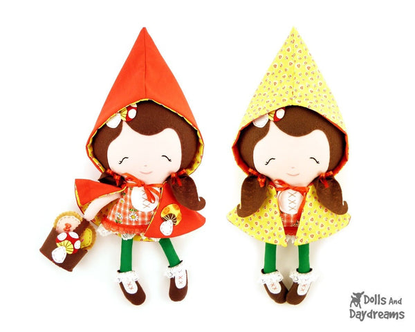 Little Red Sewing Pattern - Dolls And Daydreams - 2