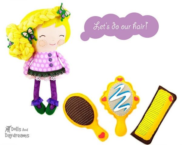 Rapunzel Sewing Pattern - Dolls And Daydreams - 3