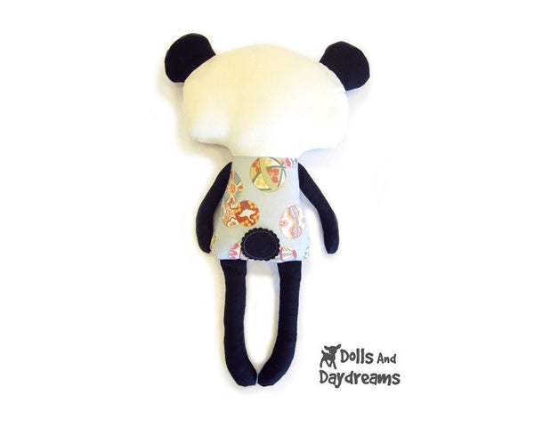 Panda Sewing Pattern - Dolls And Daydreams - 3