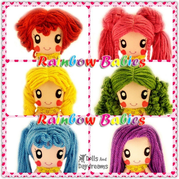 Rainbow Babies Play Set - Dolls And Daydreams - 4