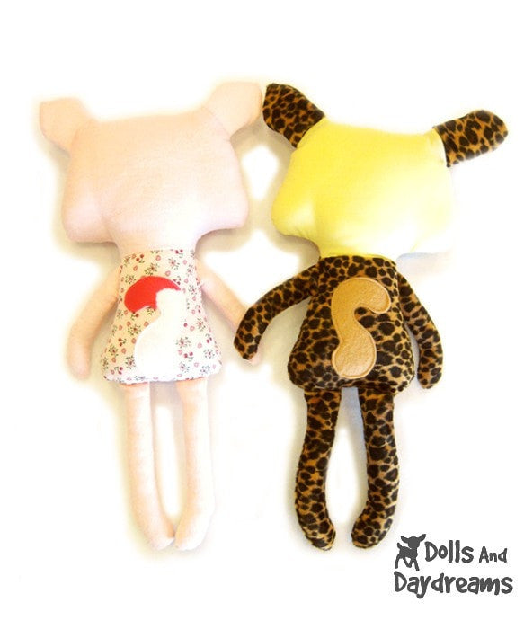 Cat Leopard Sewing Pattern - Dolls And Daydreams - 6