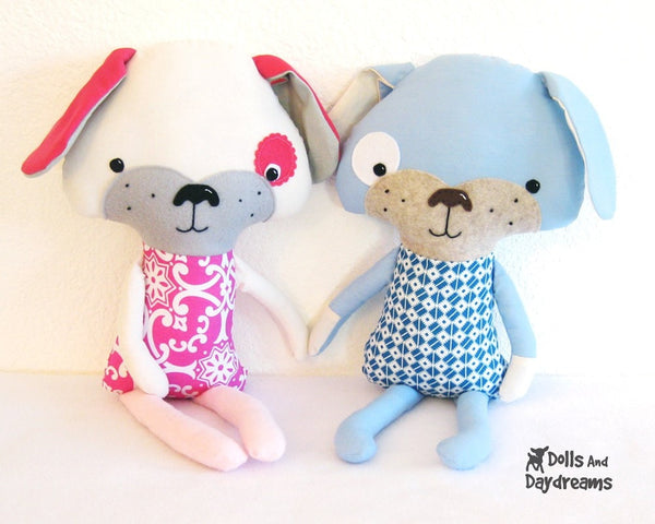 Puppy Dog Sewing Pattern - Dolls And Daydreams - 2
