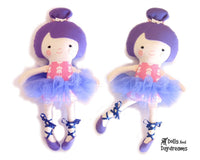 Ballerina Sewing Pattern - Dolls And Daydreams - 1