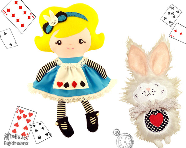 Alice In Wonderland Sewing Pattern