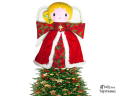 Guardian Angel Tree Topper Sewing Pattern