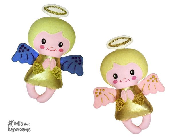 Angelic Baby Angel Sewing Pattern - Dolls And Daydreams - 1