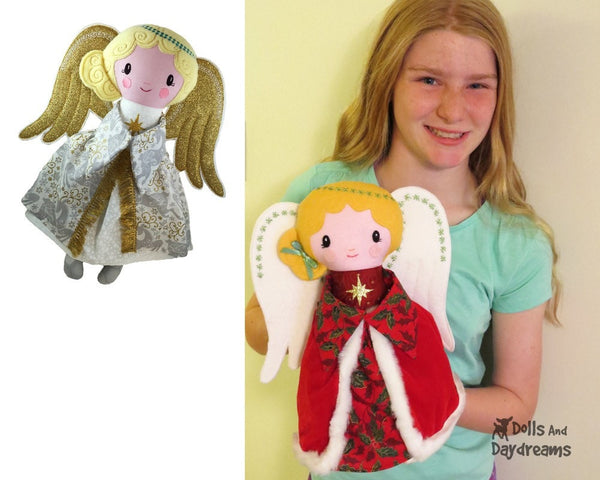 Guardian Angel Sewing Pattern - Dolls And Daydreams - 5
