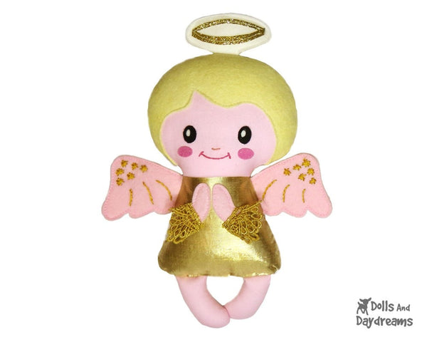 Angelic Baby Angel Sewing Pattern - Dolls And Daydreams - 4