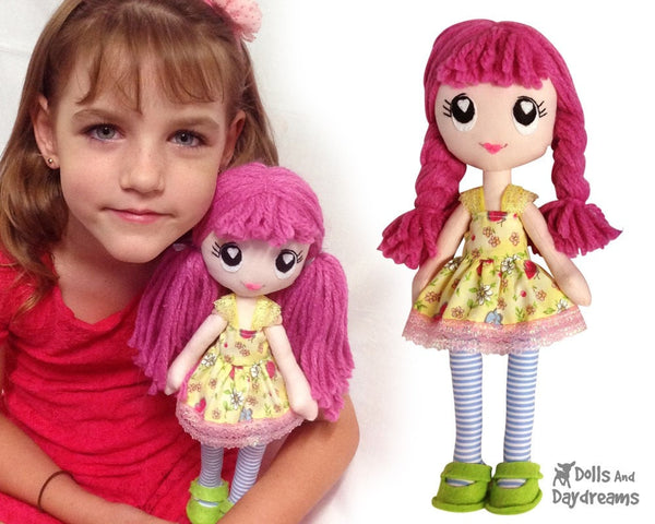 Poppy Poppet Sewing Pattern - Dolls And Daydreams - 4