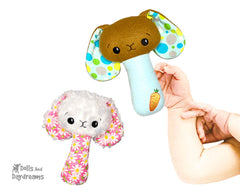ITH BFF Bunny Rattle Pattern