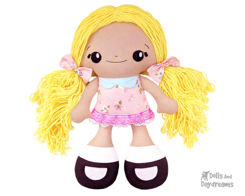 BFF Beauties Doll Sewing Pattern