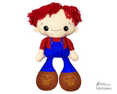 ITH BFF Buddies Boy Doll Pattern