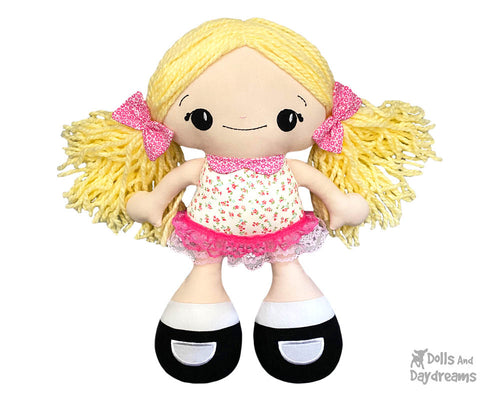 ITH BFF Beauties Doll Pattern