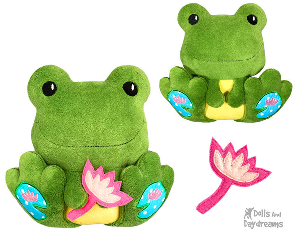 ITH BFF Frog Pattern