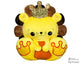 ITH BFF Lion Pattern