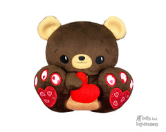 ITH BFF Teddy Bear Pattern