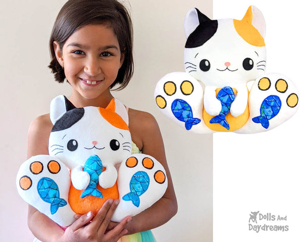 BFF Kitty Cat Sewing Pattern