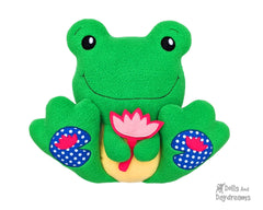 BFF Frog Sewing Pattern