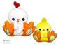 ITH BFF Chick Pattern