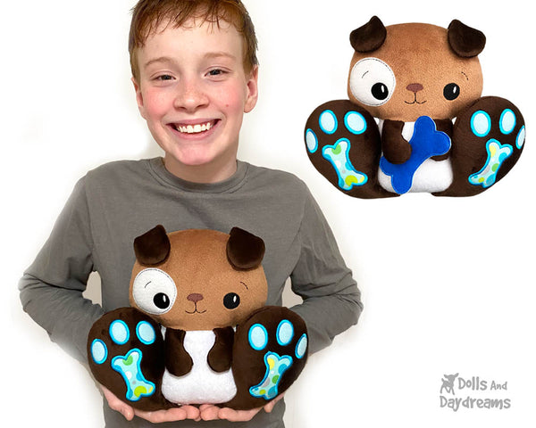 ITH BFF Puppy Dog Pattern