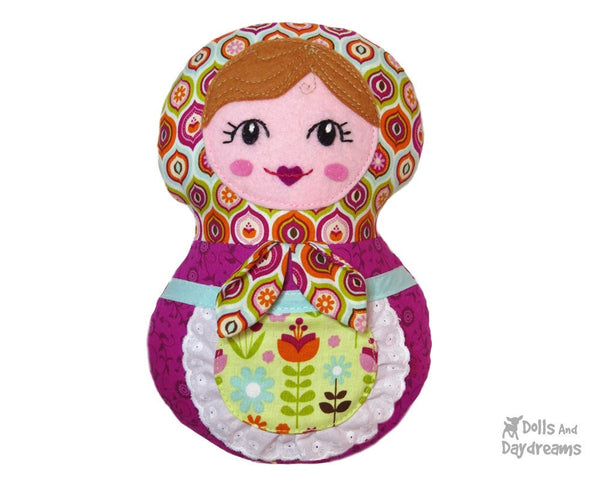 Baby Babushka Sewing Pattern - Dolls And Daydreams - 6