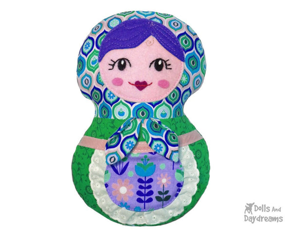 Baby Babushka Sewing Pattern - Dolls And Daydreams - 3