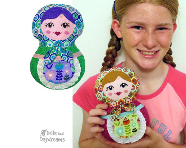 Baby Babushka Sewing Pattern - Dolls And Daydreams - 5