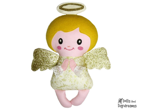 Angelic Baby Angel Sewing Pattern - Dolls And Daydreams - 3