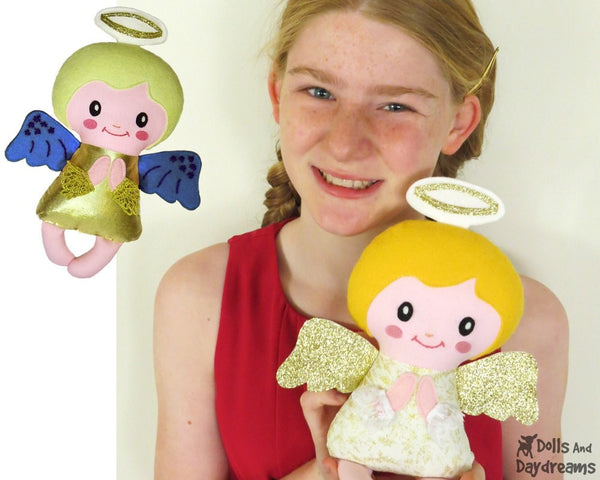 Angelic Baby Angel Sewing Pattern - Dolls And Daydreams - 5