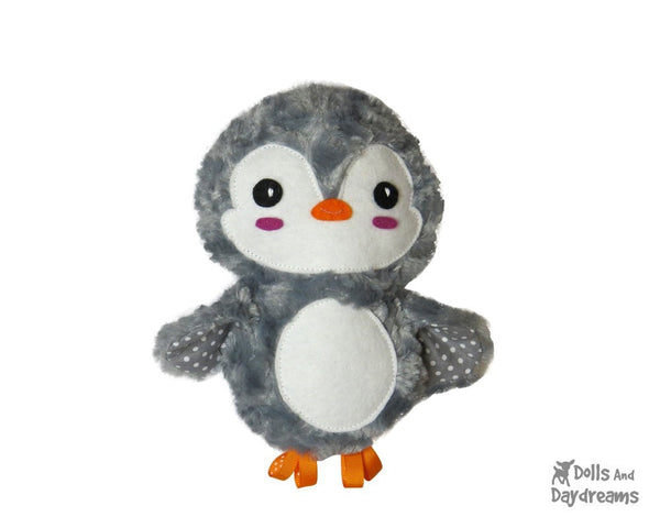 Penguin Sewing Pattern - Dolls And Daydreams - 3