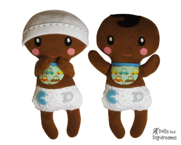 Bitty Bubs Baby Sewing Pattern - Dolls And Daydreams - 3