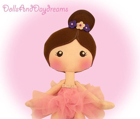LuLu Ballerina Doll Sewing Pattern - Dolls And Daydreams - 3