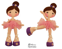 LuLu Ballerina Doll Sewing Pattern