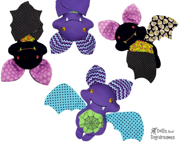 Bat Sewing Pattern - Dolls And Daydreams - 3