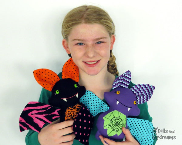 Bat Sewing Pattern - Dolls And Daydreams - 4
