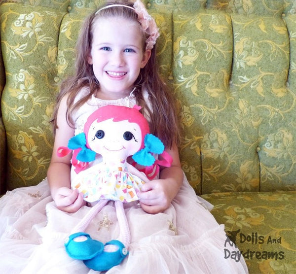 Betsy Buttons Sewing Pattern - Dolls And Daydreams - 3