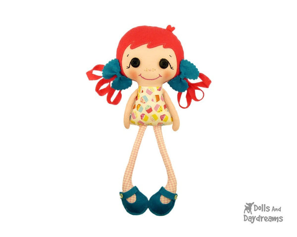 Betsy Buttons Sewing Pattern - Dolls And Daydreams - 2