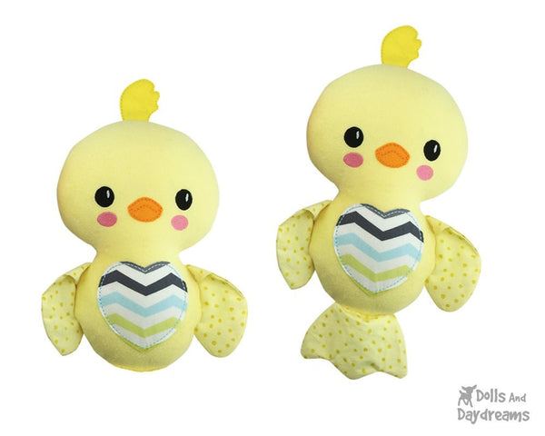 Embroidery Machine Chick Love Bird Pattern - Dolls And Daydreams - 3